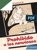 Prohibido a los nerviosos recopilado por Alfred Hitchcock - AA VV.pdf