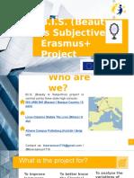 B.I.S. Erasmus + project (2017-2018)