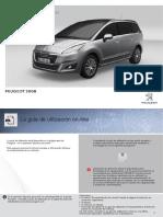 Manual 2014 peugeot 5008