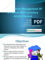 Rka Anesthesia and Coronary Artery Disease 2