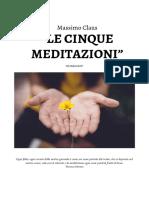 Presentazione Le Cinque Meditazioni