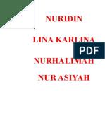 Daftar Nama Loket