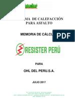 Calentador Para Asflato Resister 45KW-480V USO FRONTAL