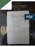 Mijares, Ivonne, Documentos Notariales y La Historia de México, Colegio de Notarios Del DF