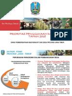 Jatim,Prioritas Penggunaan Dana Desa Tahun 2018