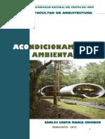 Texto Universitario - Acondicionamiento Ambiental - Tercera Unidad