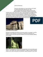 Patrimonios Históricos de la humanidad