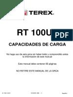 20 TABLAS de CARGA Tabella Di Carico RT 100US LS Metrico Rev_02-2018