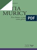 Ecce Homo a Autobiografia Como Genero Filosofico_katia Muricy_zazie Edicoes_2017