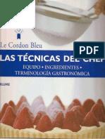 169208876 Las Tecnicas Del Chef