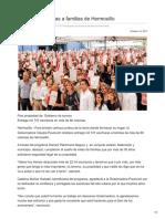 17-10-2017-Entregan Escrituras a Familias de Hermosillo - Sdpnoticias