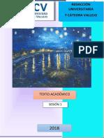 EL TEXTO ACADÉMICO Material Informativo (1)
