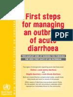 diarrhea who