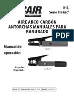Air Carbon-Arc Manual Gouging Torches 89250019es_ab