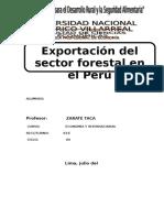 Exportacion Forestal en El Peru 22222