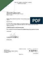 Solicitud Subsanación Gestion Total Corporativa MC 27 de 2018