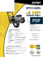 Hidrolavadora Porten 4HP 2200 PSI.pdf