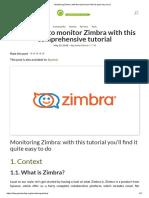 Zimbra Monitoring