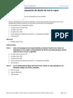 1.3.1.1 Class Activity - Layered Network Design Simulation