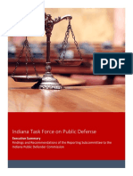 Indiana Public Defense Task Force Report