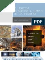El Factor Climatico a Traves de La Historia