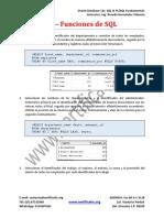 Ejercicio 1 Funciones de SQL Resolución