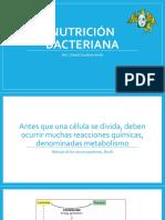 Metabolismo Crecimiento Respiración Nutrición