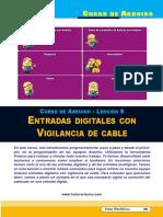 Lección 08 Entradas Digitales Con Vigilancia de Cable