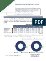 Informe Establecimientos de Crédito Colombia Julio 18