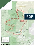 B&B Complex wildfire burn zone
