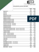 Ebullient Car Wash Listado de Productos y Precios 2018 (2)