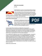 Historia de La Bandera Del Ecuadorr