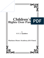 Children's Rights over Parents