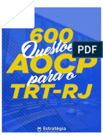 600 Questoes AOCP