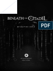BENEATH THE CITADEL Chapter Excerpt