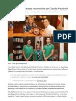 04-10-2017-Deportistas Sonorenses Reconocidos Por Claudia Pavlovich - Debate
