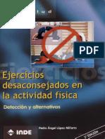Ejercicios Desaconsejados en La Actividad Fìsica
