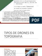 Tipos de Drones en Topografia