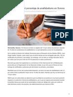 08-09-2018- ISEA Disminuye El Porcentaje de Analfabetismo en Sonora - Tribuna