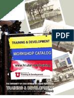 Workshop Catalog