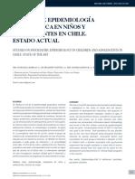 Estudio de epidemiología psiquiátrica en niños y adolescentes en Chile. Estado actual