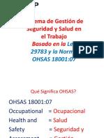 Sistema de Gestion Ohsas 18001