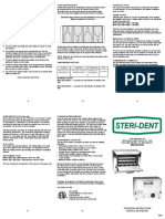 Steri-dent sterilizer dry heat Manual.pdf