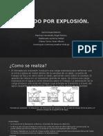 Formado por explosión