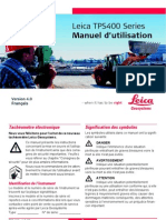 TPS400 User Manual 4.0 French