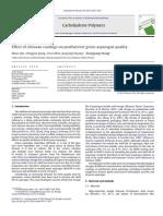 Efecto de la cubierta de quitosano en la calidad postcosecha de espárrago verde