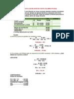 Costo Volumen Utilidad (Ejercicio 4)