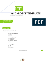 10 Slides Free Pitch Deck Template