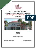 West Gate K-8 Handbook