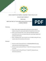 Surat Keputusan Kepala Klinik Utama Tulus Ayu